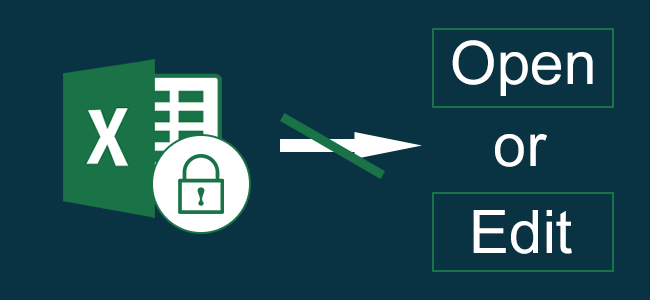 How to Protect Excel Workbook from Opening and Editing | iSumsoft