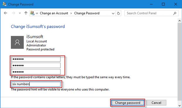 find current windows 10 password