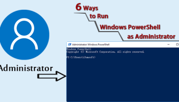 4 Ways to Open Command Prompt as Administrator in Windows 10