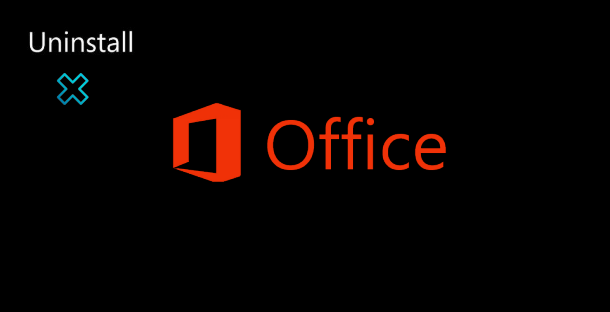 microsoft office removal tool command line