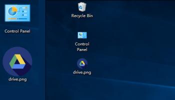 windows 10 desktop icons not showing properly
