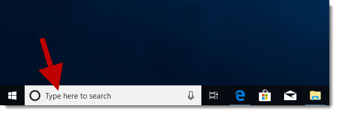 How To Show/Hide Search Box Or Icon On Windows 10 Taskbar