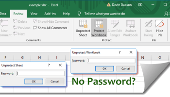 excel remove read only lock