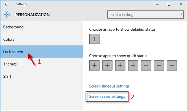 2 Ways to Turn on or off Screen Saver in Windows 10 | iSumsoft