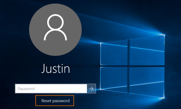 how to reset windows 10 password using another computer