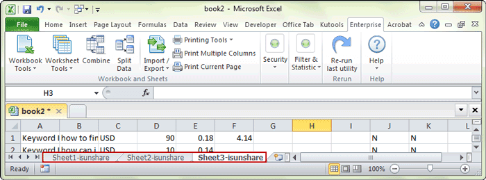 3 Ways To Rename Multiple Worksheets Manually Or