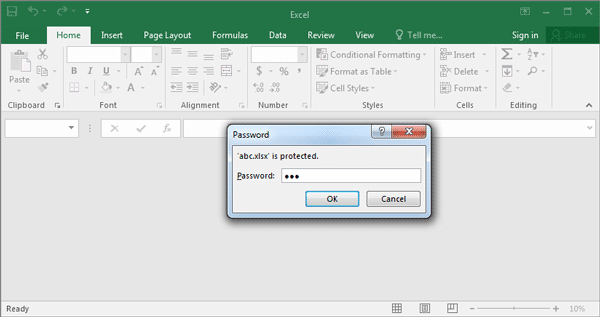password protect excel - April.onthemarch.co