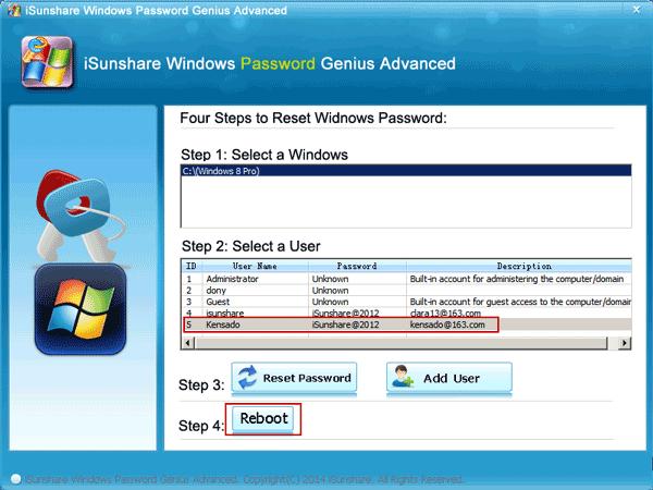 How to Reset Windows 8/8.1 Microsoft Account Password after Forgot Online/Offline