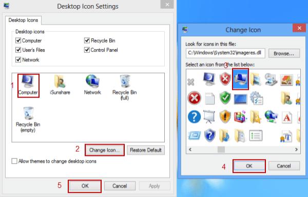 restore my computer icon