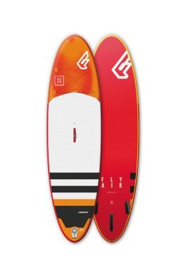 "fanatic fly air premium 10'8"" inflatable supboard"