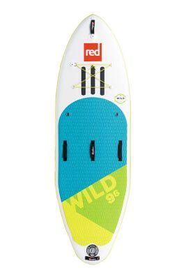 "red paddle 9'6"" wild msl inflatable supboard"