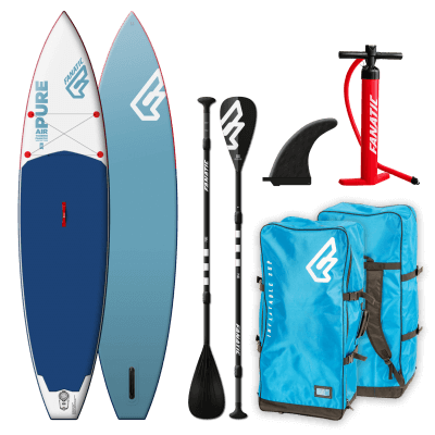 "fanatic pure air touring 11'6"" board en peddel pakketdeal"