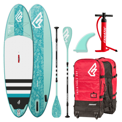 "fanatic diamond air 9'8"" pakketdeal"