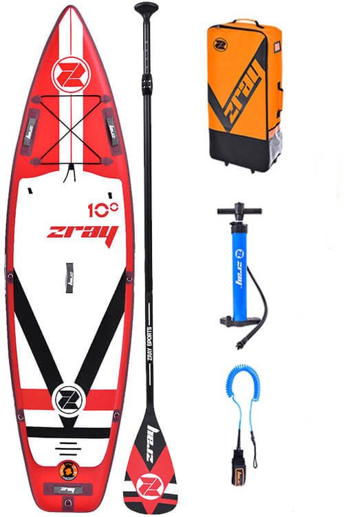 zray f1 fury 10 sup board