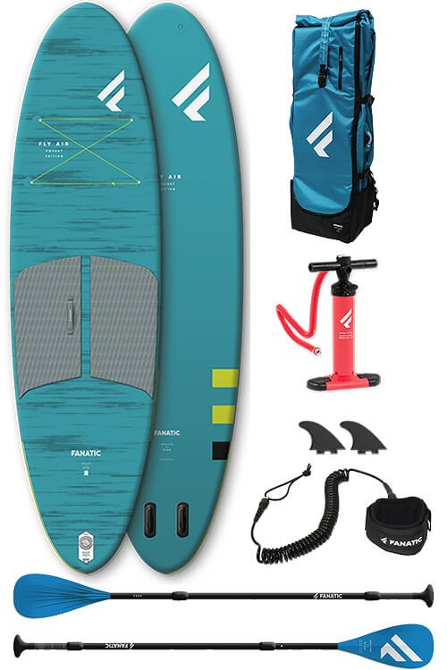 Fanatic Fly Air Pocket 10'4 met sup peddel