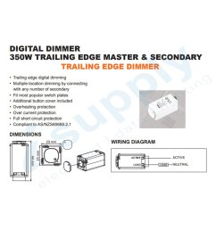 clipsal compatible dexton touch light switch dimmer universal 2 in 1 mechanism [ 1200 x 1500 Pixel ]