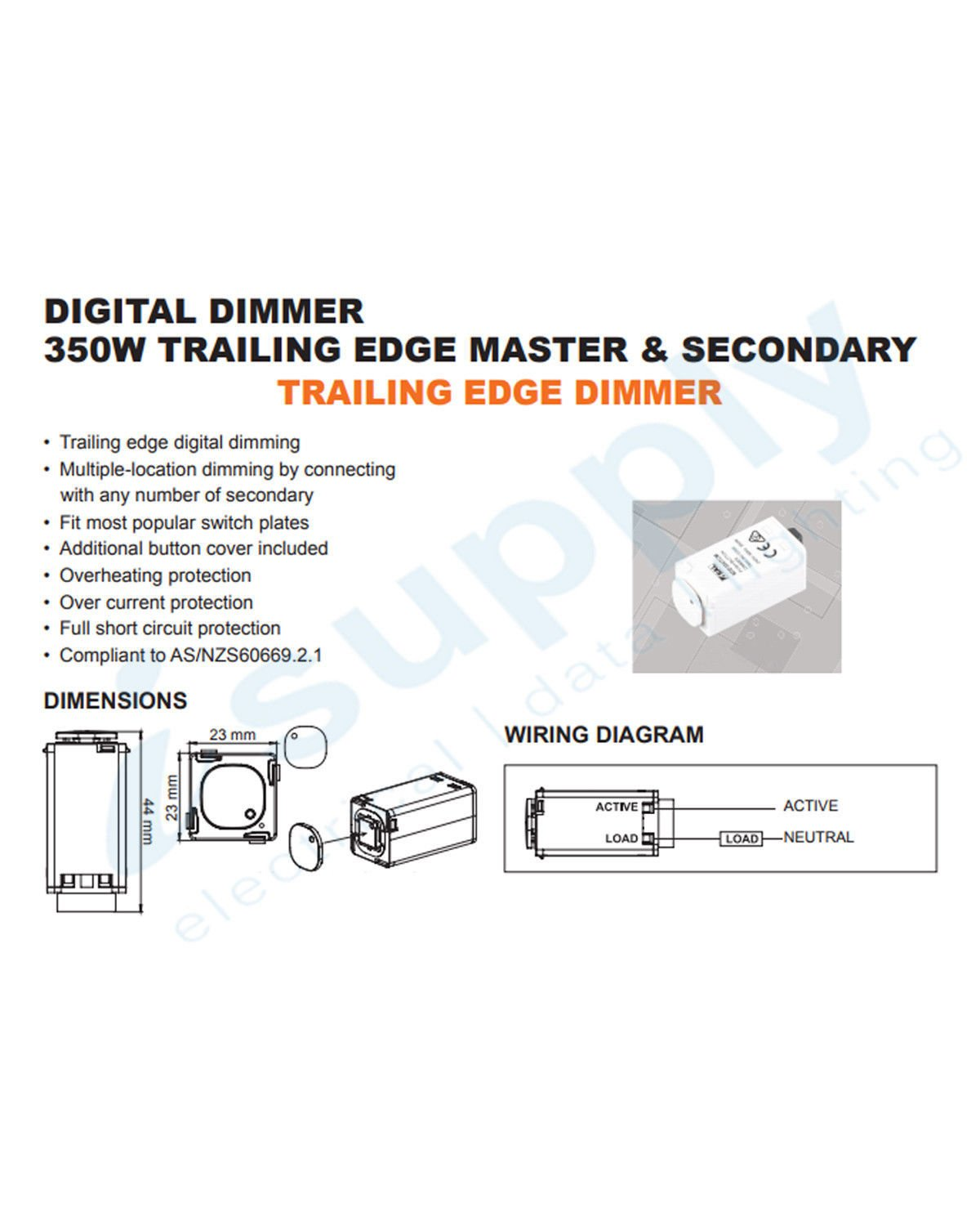 hight resolution of clipsal compatible dexton touch light switch dimmer universal 2 in 1 mechanism
