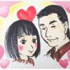宣言【お祝い絵師】が丸井今井へ!