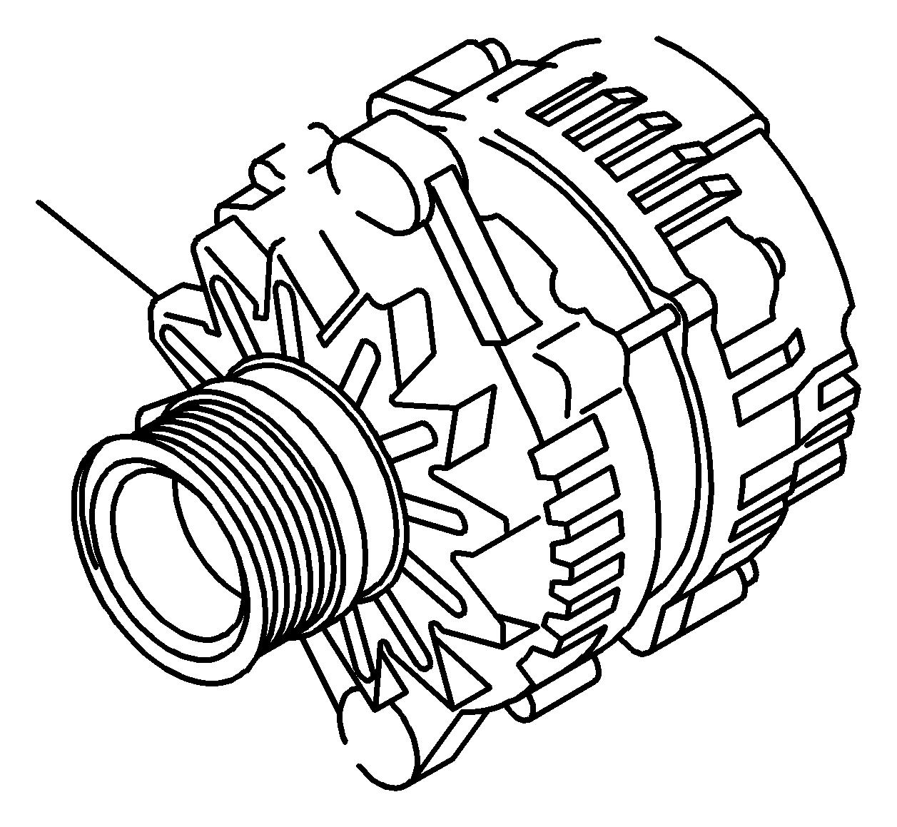 Isuzu NRR Generator asm. Engine, systems, fuel, emission