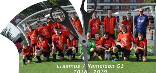 ISV Kameleon splitsing G-Senioren team