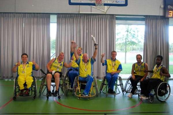 ISV Kameleon rolstoelbasketbal