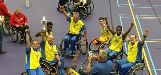 ISV Kameleon rolstoelbasketbal team landskampioen 2019 B divisie