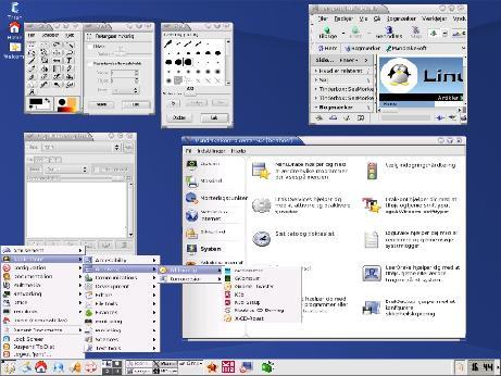 Installation af Mandrake Linux 9.1