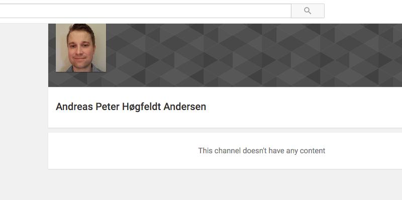 Styr dine privatindstillinger på din Youtube konto
