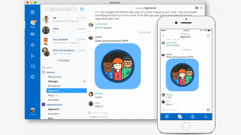Keybase – Krypteret chat og styr på dine identiteter