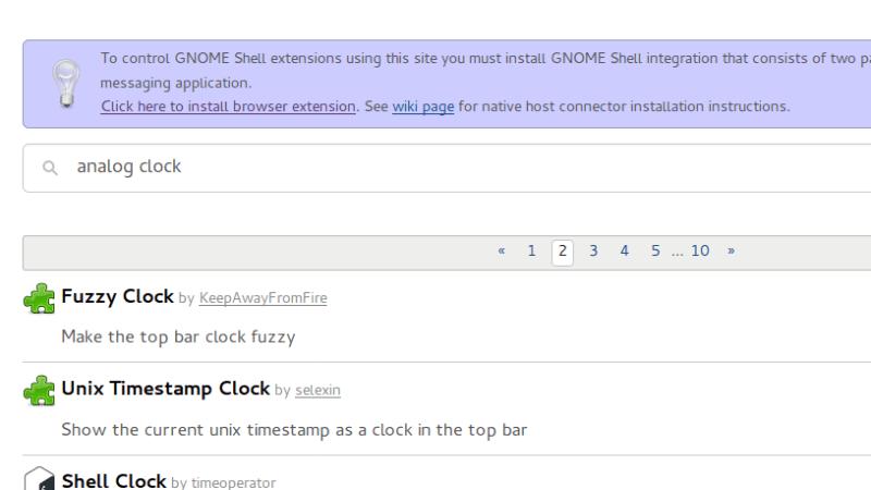 Installer GNOME Extensions i Ubuntu