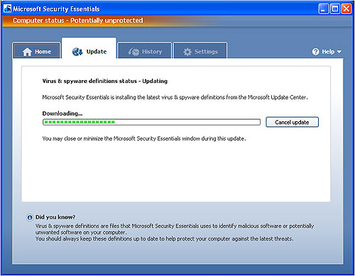 microsoft_security_essentials_update_screen