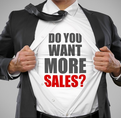 Do you want more sales?