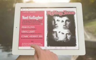 Das Rolling-Stone-Magazin auf dem iPad für 4,99 Euro