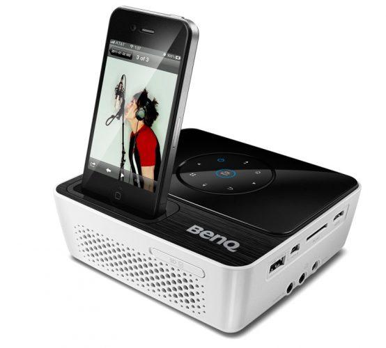 minibeamer f r iphone und ipod touch joybee gp2 von benq it techblog k nstliche intelligenz. Black Bedroom Furniture Sets. Home Design Ideas