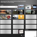 Noch nicht fertige Fotobücher können neu arrangiert und mit weiteren Bildern versehen werden