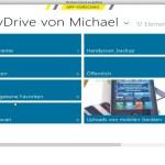 Mit der Skydrive-App von Windows 8 landen alle Daten in der Cloud