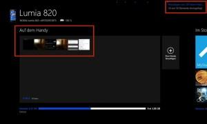 Windows 8.1 - Fotos, Musik und Bilder gelangen per Windows-Phone-App auf Lumia und Co