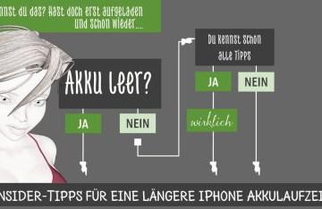 12 iPhone-Akku-Tipps