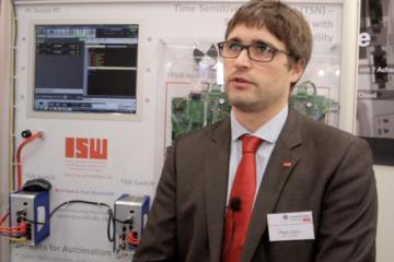 Peter Zahn vom ISW der Uni Stuttgart über TSN und INtime