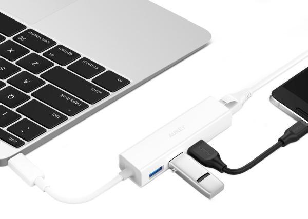 Aukey USB-C-Ethernet-Hub