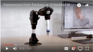 Videoimpressionen vom TenAsysStand auf der Embedded World 2017