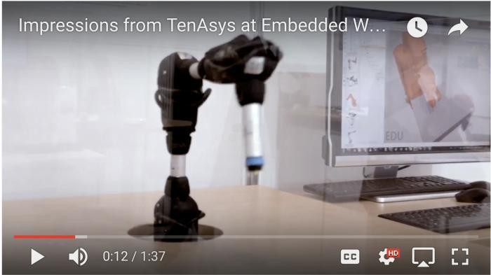 TenAsys-Videoimpressionen von der Embedded World 2017