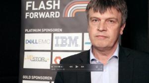 Stefan Lein von IBM auf der Flash Forwards München 2017