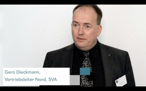 Gero Dieckmann auf dem SVA VirtualizationDay 2017 in Hamburg
