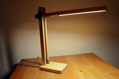 Review: Robuste Holzlampe von Aukey für Naturliebhaber
