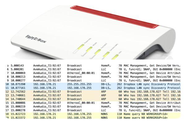 Fritzbox und Wireshark: WLAN-Router von AVM monitoren (Teil 1)