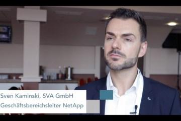 Sven Kaminiski, SVA, über NetApp ONTAP