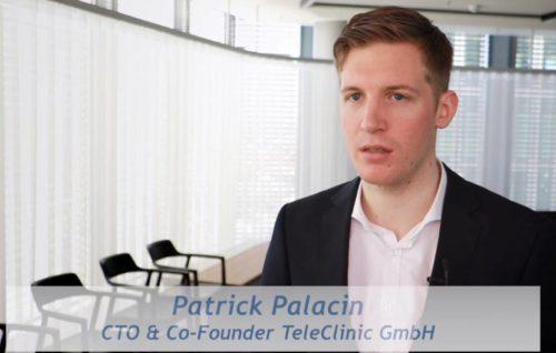 Patrick Palacin, TeleClinic GmbH, über IBM Cloud-Services und Sicherheit
