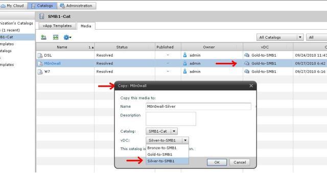 vCloud Director: Catalog Experiments « IT 2 0