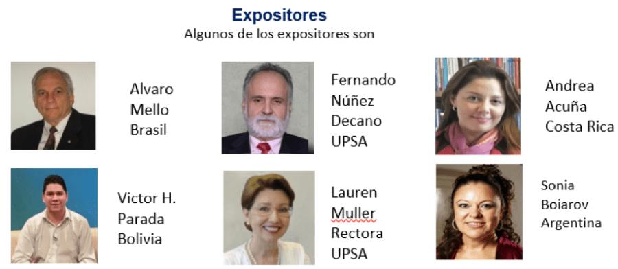 expositores bolivia 2018